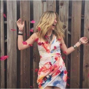 Rumor Boutique Watercolor Dress